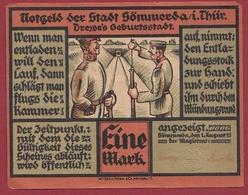 Allemagne 1 Mark Stadt Sömmerda I Thür Dans L 'état N °5447 - Verzamelingen
