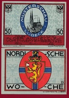 Allemagne 50 Pfenning Stadt Lübeck Dans L 'état N °5452 - [ 3] 1918-1933 : República De Weimar