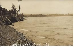 «Brome Lake», Lac Brome, Québec, Photo J.Albert Légaré, Waterloo (D101) - Quebec