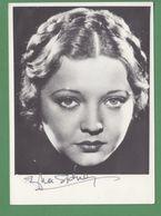SILVIA SIDNEY Original In Person Signed Photo AUTOGRAPHE / AUTOGRAMM  10/15 Cm - Autógrafos
