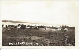 General View Of Brome Lake, Québec, Unused (D105) - Quebec