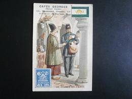 Cafés GEORGES Paris (La Poste En Perse) - Tè & Caffè