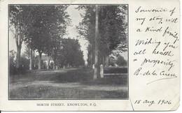 1906 - North Street, Knowlton, Québec,  Low Right Corner Crease (D109) - Quebec