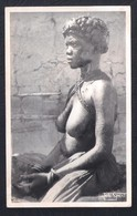 REAL PHOTO POSTCARD PORTUGAL ANGOLA LOANDA - WOMAN NUDE - 1950'S (DAMAGED BY HUMIDITY) - Angola