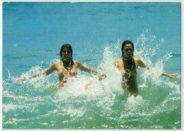 Motiv, Pin-Ups, FKK, Nackte Frauen Im Wasser - Pin-Ups