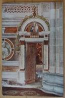 Certosa Di Pavia Porta Alle Cappelle Di Destra Frescata Dal Bergognone Milano - Gemälde, Glasmalereien & Statuen