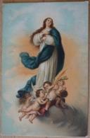 Immaculata Conceptio Murillo Pinx - Gemälde, Glasmalereien & Statuen
