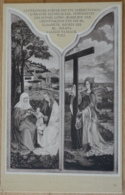 Rohrauer Flügelaltar Galerie Harrach Wien Matia Christus Hl. Elisabeth Hl. Helena Löwy 1906 - Gemälde, Glasmalereien & Statuen