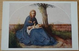 Madonna Unter Blüten Von Steinle - Gemälde, Glasmalereien & Statuen