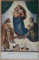 Raffaelo Santi Die Sixtinische Kapelle Madonna - Gemälde, Glasmalereien & Statuen