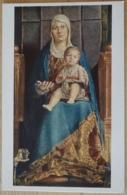 Wien Gemäldegalerie Im Kunsthistorischen Museum Antonello Da Messina Maria Mit Dem Kinde Max Jaffé - Gemälde, Glasmalereien & Statuen