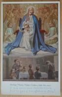 Sancta Maria Mater Dei Ora Pro Nobis Peccatoribus Heilige Maria Mutter Gottes Bitte Für Uns Madonna - Gemälde, Glasmalereien & Statuen