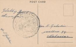 Nederlands Indië - 1946 - Speciaal Stempel Negara Indonesia Timoer Op Nieuwjaarskaart Makasser - Indes Néerlandaises