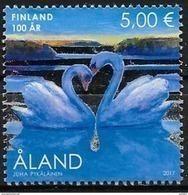 Aland 2017 N° 441 Neuf 100 Ans Indépendance De La Finlande , Cygnes - Aland