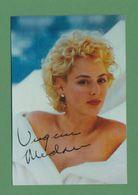 VIRGINIA MADSEN Original In Person Signed Photo AUTOGRAPHE / AUTOGRAMM  9/13 Cm - Autographes