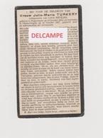 DOODSPRENTJE TURKERY JULIE ECHTGENOTE NEVEJAN POPERINGE VLAMERTINGE 1852 - 1927    Bewerkt Tegen Kopieren - Santini