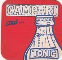BEERMAT - CAMPARI AND TONIC - Sous-bocks