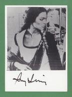 AMY IRVING Original In Person Signed Glossy Photo AUTOGRAPHE / AUTOGRAMM  10/15 Cm - Autógrafos
