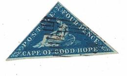 # 4 - Le Quatre Pence Oblitéré - CAPE OF GOOD HOPE - Afrique Du Sud (...-1961)