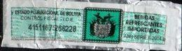Bolivia 2014 O. Tipo H&A CC. No Catalogado. Impuesto Bebidas Refrescantes Importadas. ROSALNES Impresiones Ltda. - Bolivia