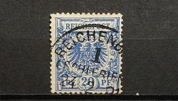 Deutsche Reich Mi-Nr. 48 A Gestempelt Geprüft - Oblitérés