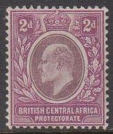 1903-1904. BRITISH CENTRAL AFRICA PROTECTORATE. Edward VII  2 D.  (MICHEL 60) - JF318457 - Nyassaland (1907-1953)