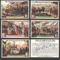 Liebig - Vintage Chromos - Series Of 6 / Série Complète - Grandes Expéditions Militaires Historiques - En Français - Liebig