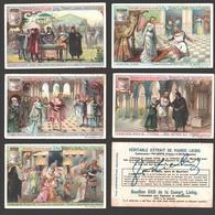 Liebig - Vintage Chromos - Series Of 6 / Série Complète - Robert Le Diable, Opéra De Meyerbeer - En Français - Liebig