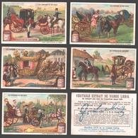 Liebig - Vintage Chromos - Series Of 6 / Série Complète - Les Carrosses De Nos Aïeux - Français - Liebig