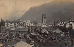 ZELL Am ZEE AUSTRIA FARMERS LIVESTOCK MARKET 1910s PHOTO POSTCARD 42965 - Zell Am See