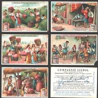 Liebig - Vintage Chromos - Series Of 6 / Série Complète - La Fabrication De L'essence De Roses - En Français - Liebig
