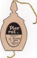 Publicité Parfum En Forme De Flacon - PIER ROT - ROSINE PARIS (voir Descriptif) - Perfumes & Belleza