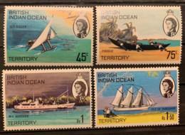 B.I.O.T. - MNH** - 1969 - # 35/38 - British Indian Ocean Territory (BIOT)