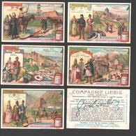 Liebig - Vintage Chromos - Series Of 6 / Série Complète - Au Caucase - En Français - Kaukasus - Liebig