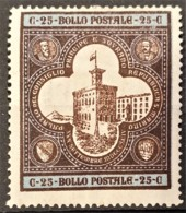 SAN MARINO 1894 - MLH - Sc# 29 - 25c - Unused Stamps