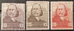 SAN MARINO 1924 - MLH - Sc# 84, 85 86 - Unused Stamps