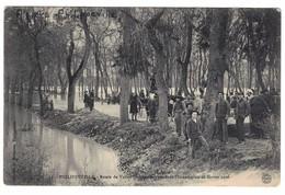 ALGÉRIE - PHILIPPEVILLE - Route De Vallée-Damrémont Pendant L'innondation De Février 1906 - Skikda (Philippeville)