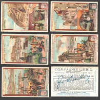 Liebig - Vintage Chromos - Series Of 6 / Série Complète - Iles De La Méditerranée - En Français - Liebig
