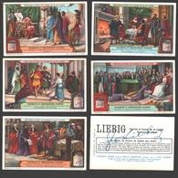 Liebig - Vintage Chromos - Series Of 6 / Série Complète - Diplomates Et Ambassadeurs Célèbres - En Français - Liebig
