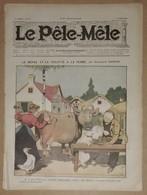 Le Pèle-Mêle N°24 Du 11 Juin 1905 Le Repas Et La Toilette à La Ferme Par Benjamin Rabier - Carsten Raven, Valvérane,Haye - Journaux - Quotidiens