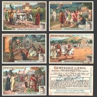 Liebig - Vintage Chromos - Series Of 6 / Série Complète - Fêtes Dans L'Antiquité - En Français - Liebig