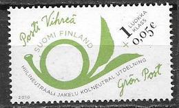 Finlande 2010 N° 2001 Neuf  Poste Verte Avec Surtaxe - Finlandia