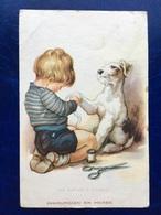 "Cpa--""Petit Chirurgien Et Son Chien""--(my Ref 277) - 1900-1949"