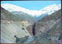 CHILI CHILE SALTO DEL SOLDADO CAMINO INTERNACIONAL PORTILLO MENDOZA CORILLERA DE LOS ANDES - Cile