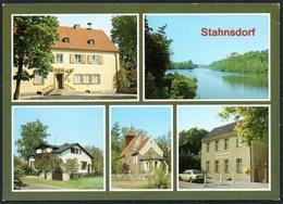 D1772 - Stahnsdorf Postamt Kirche - Verlag Bild Und Heimat Reichenbach - Stahnsdorf