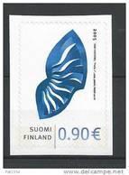 Finlande 2005  Neuf N°1734 Timbre Personnalisé Avec Papillon - Finlandia