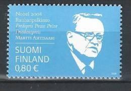 Finlande 2008  Neuf N°1907Martti Ahtisaari - Unused Stamps