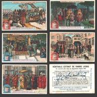 Liebig - Vintage Chromos - Series Of 6 / Série Complète - Parasols Et Parapluies - En Français - Liebig