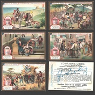 Liebig - Vintage Chromos - Series Of 6 / Série Complète - Scènes D'Italie - En Français - Italia - Liebig