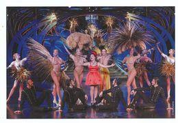 PARIS  LIDO DE PARIS Cabaret Revue Danseuses Nues Plumes Paris Merveilles Champs Elysées - Carte Récente Neuve - Pubs, Hotels, Restaurants